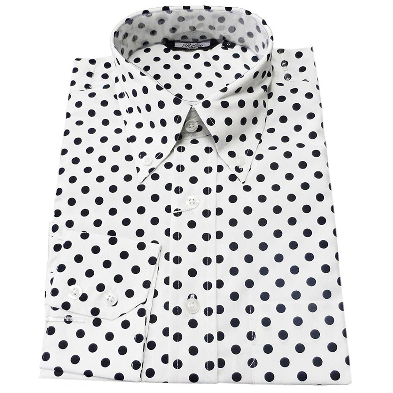 camisas de lunares de hombre