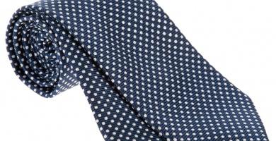 corbatas de lunares