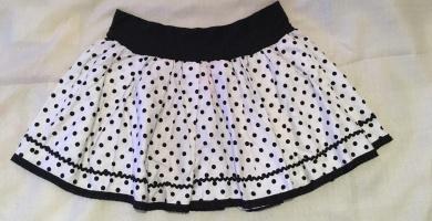 faldas de lunares