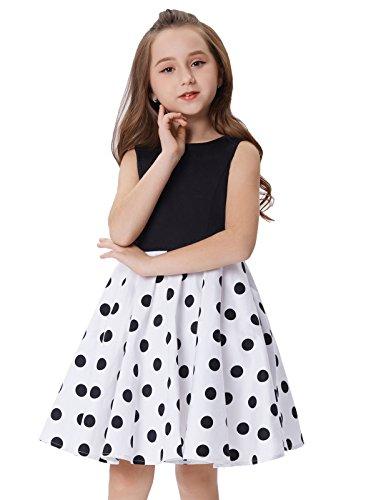 Los mejores vestidos de lunares para niña