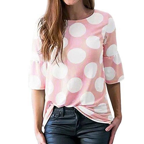 Las mejores Camisetas de Lunares para Mujeres y Hombres